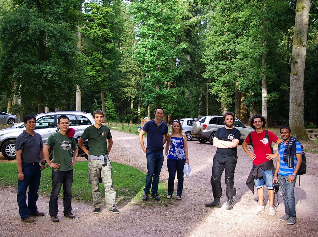 The Team in the New Forest, September 2013