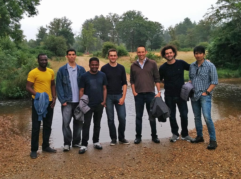 The Team in the New Forest, August 2015