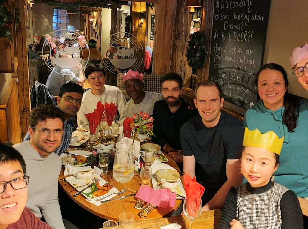 The Team at the CPS Group Christmas Lunch, December 2019